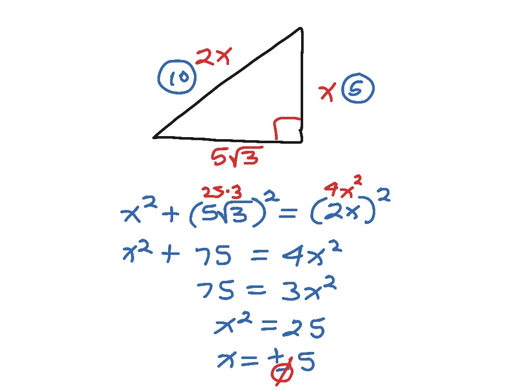 8 2 Pythagorean Theorem