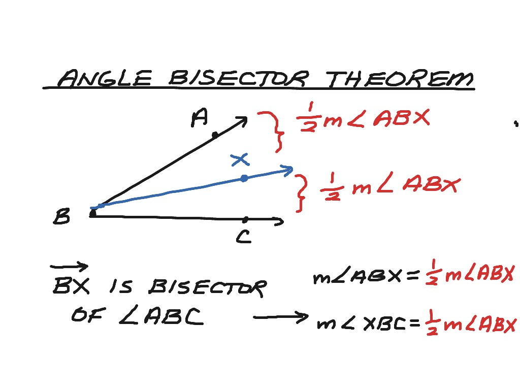 Proof Exterior Angle Bisector Theorem Triangle Angle Bisector Theorem Angle Bisector Theorem