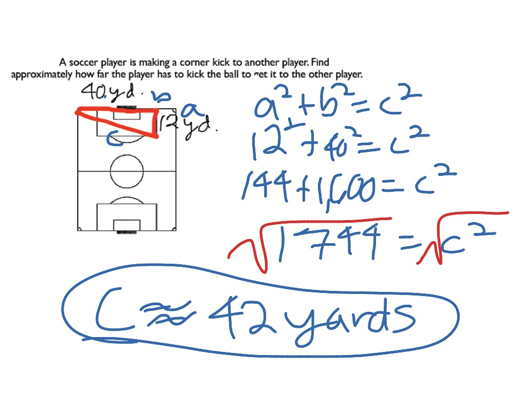 How To Solve Pythagorean Theorem Problems Using The