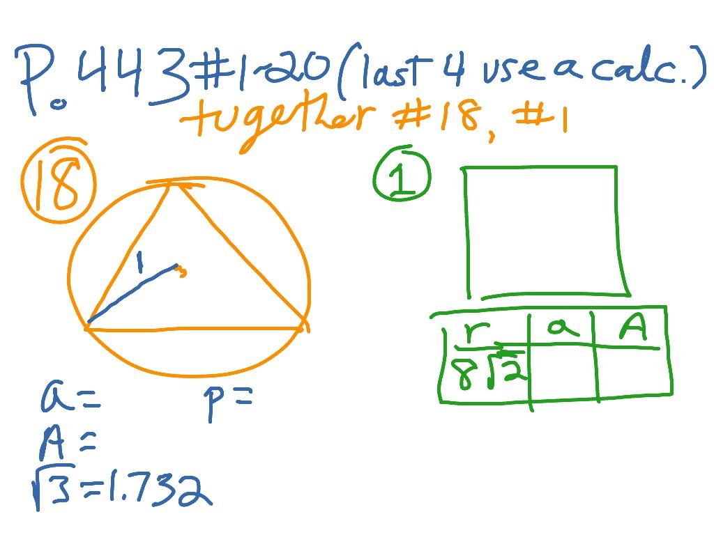 Geometry 11 4 Regular Polygons