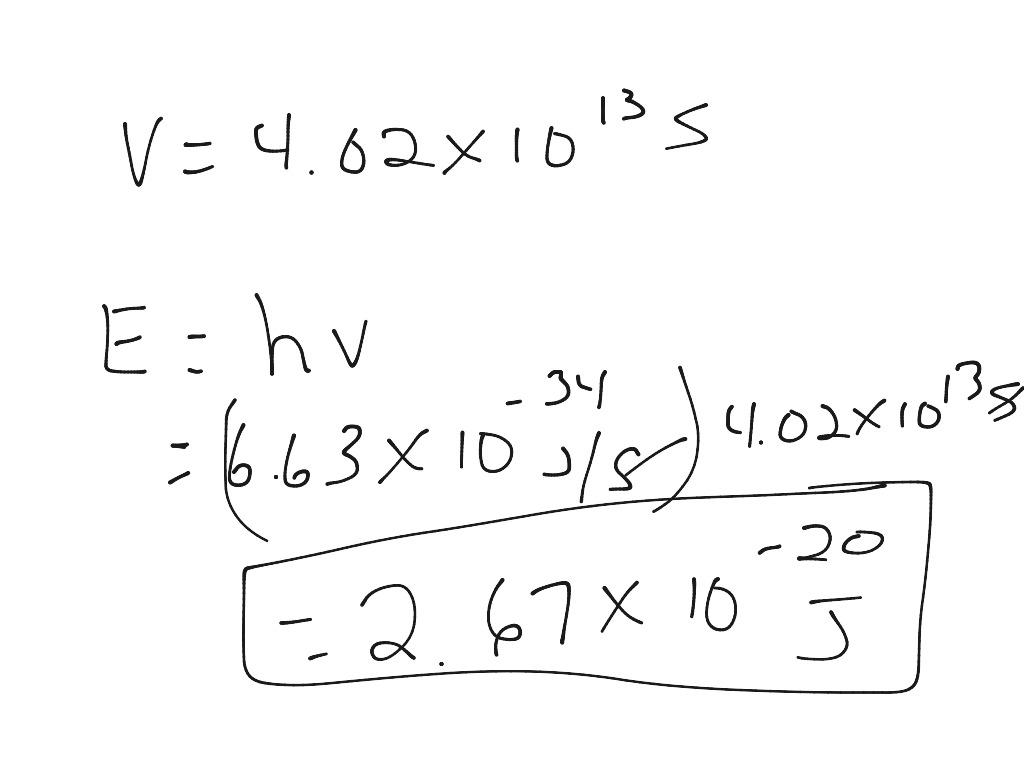 Planck S Equation Worksheet 1 4