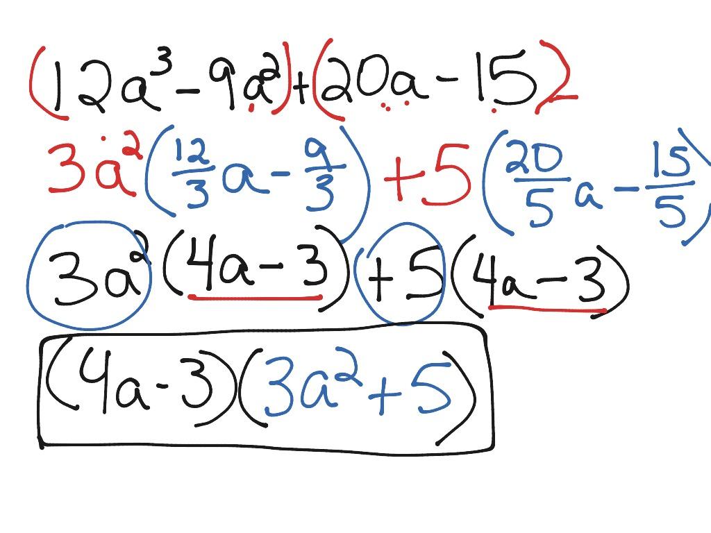 Part 2 Factoring Polynomials Using Gcf