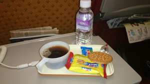 This is the dinner on Air India.. Fit for the Maharaja of the skies?