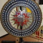 A Beautifully Preserved Big 6 Carnival Gaming Wheel