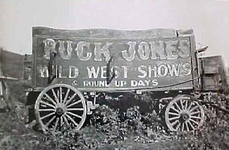 "alt""Buck Jones Wild West Shows"""