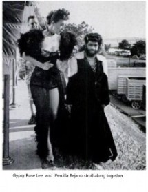 """alt=""""The Monkey Girl and Gypsy Rose Lee"""""""