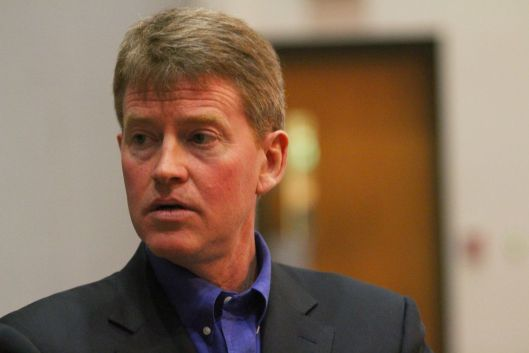 Chris Koster (D) [2014 file photo].