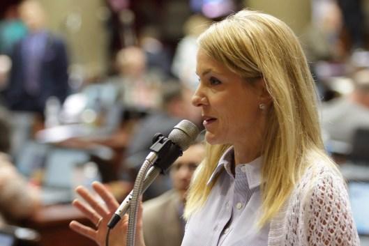 Representative Tracy McCreery (D) - May 12, 2016.