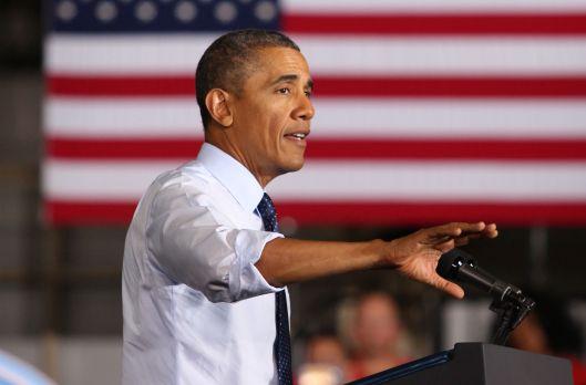 President Barack Hussein Obama (D) [2013 file photo].