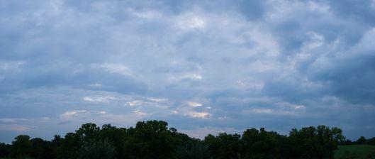 At sunrise.