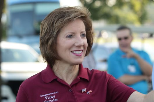 Representative Vicky Hartzler (r), the incumbent in the 4th Congressional District.