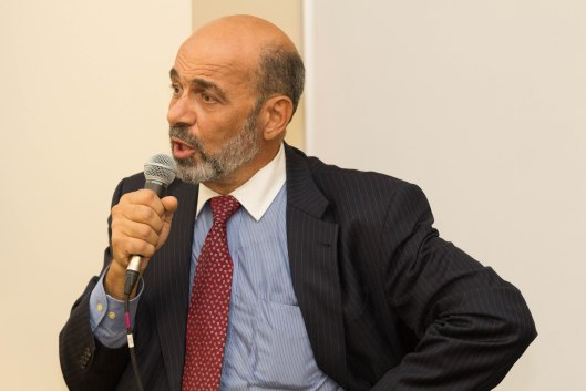 Dr. Moussa Elbayoumy, Board Chair for the Kansas Chapter of CAIR, the Council on American–Islamic Relations, speaking at the University of Central Missouri - November 2, 2016.