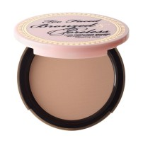 4. Too Faced - Bronzed & Poreless Bronzer - Don't bake it, fake it. Our pore-banishing bronzer keeps your skin looking flawless and fresh from the beach. With one quick dusting, pores vanish and your skin radiates with a smooth, touchable glow.