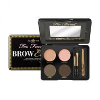 8. Too Faced - Brow EnvyThis portable kit is like a brow bar in your pocket: professional tweezers, easy-to-use stencils to customize your brow shape, conditioning wax, powder & brow brush tools.