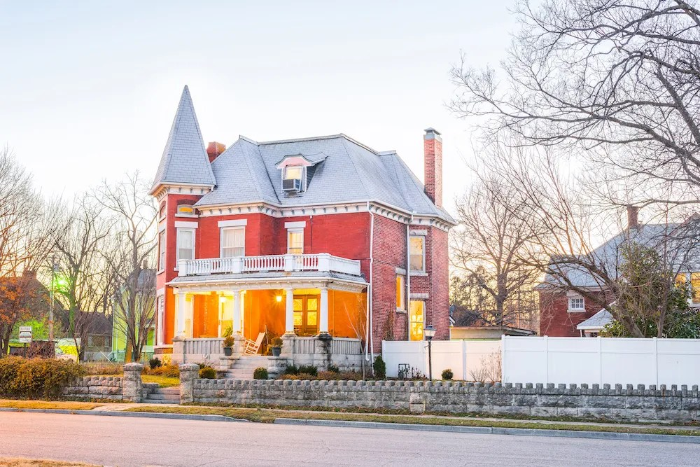 Lori & Jeremy Haun's Historic Murphysburg Home