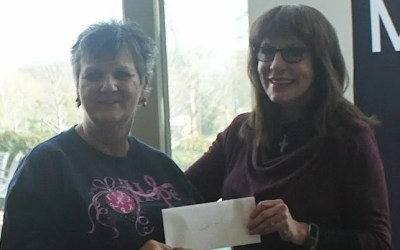 Show Me The Ozarks Check Presentation for Hope 4You Breast Cancer Foundation