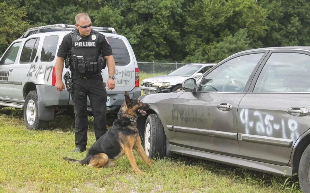 The Jpd K 9 Unit A Look Inside The Life Of Joplins Police