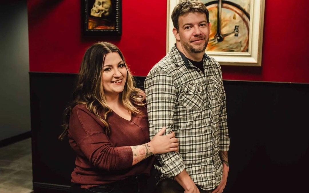Love in the Workplace  Wade and Tyffanie Rogers – Blacklist Ink and Blacklist Laser