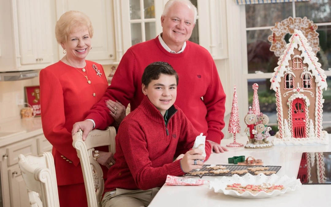Comfort and Joy  Celebrating the Holidays with the Baker Family