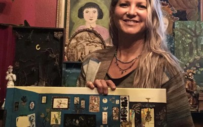 The Creative Edge  Ozark Mountain Mama   –   Get lost in the eclectic, nostalgia-inspiring artwork of Gretchen Sharples