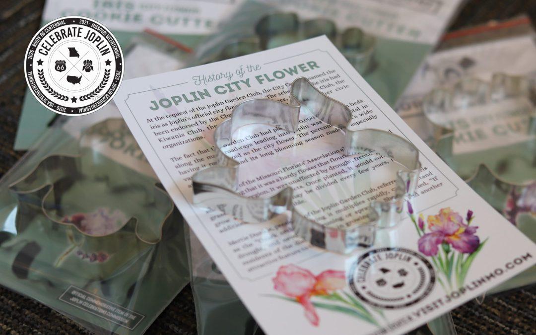 It's Time to Celebrate Joplin!  The iris was selected as the official flower of Joplin in 1938.