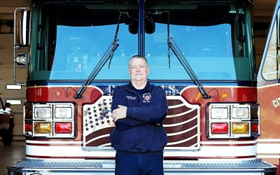 40 Years of Service Battalion Chief Mark Metsker