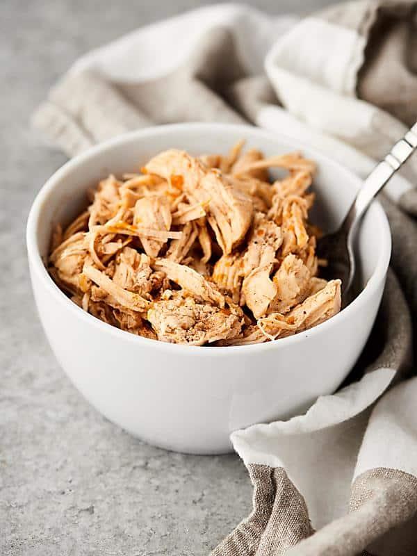 Instant Pot Shredded Chicken Recipe - w/ Frozen Chicken ...