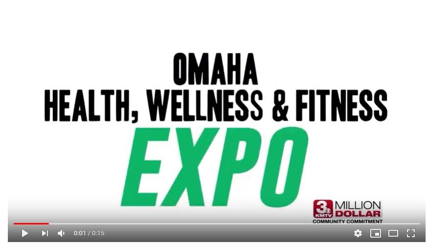 Omaha Health Expo 2019 Video