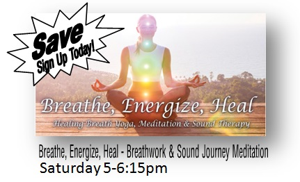 Breathe, Energize, Heal - Breathwork & Sound Journey Meditation
