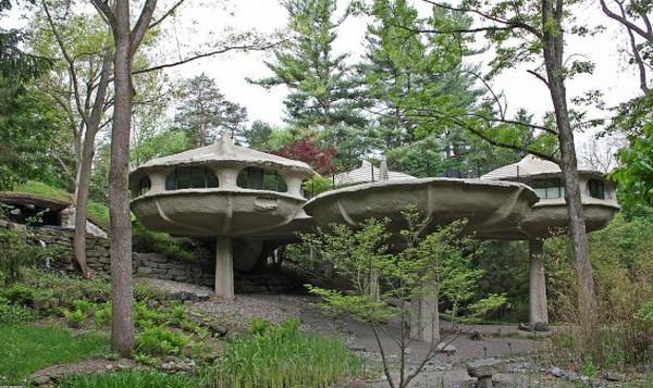 Mushroom House Powder Mills Park