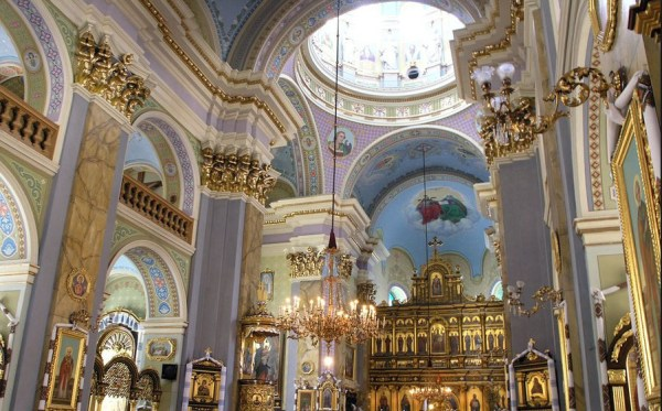 armenian church inside view