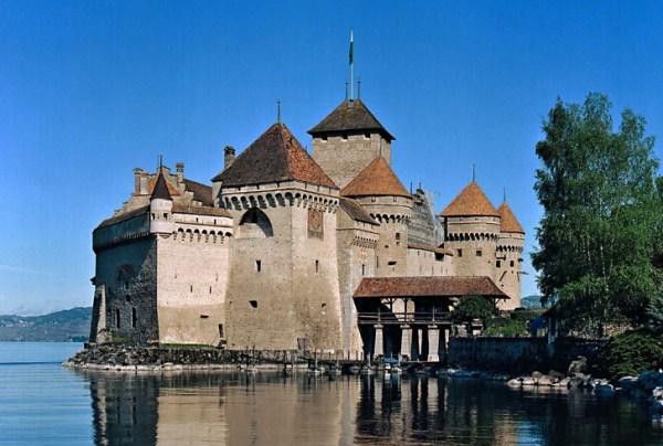 Chateau de Chillon Geneva lake