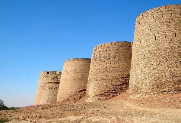 Derawar Fort Walls