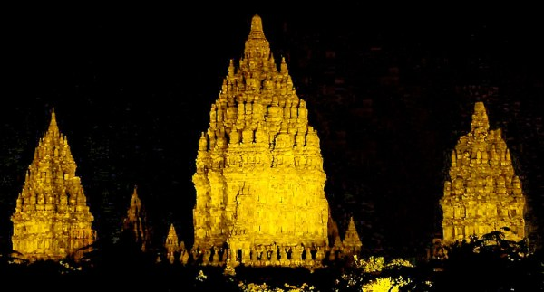 Prambanan Temple Night