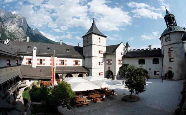 Festung Hohenwerfen inner yard