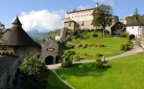 Festung Hohenwerfen yard