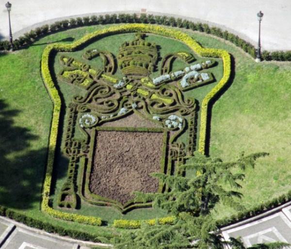 vatican gardens arms