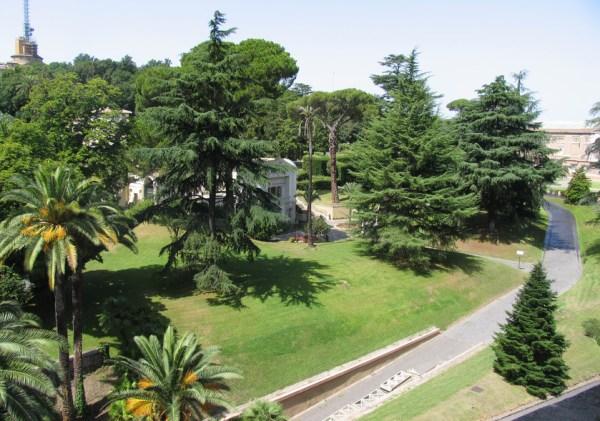 vatican gardens road