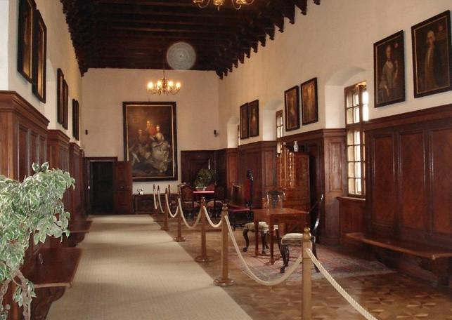bojnice castle interior