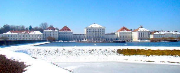 Nymphenburg winter