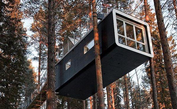 Отель на дереве Швеция