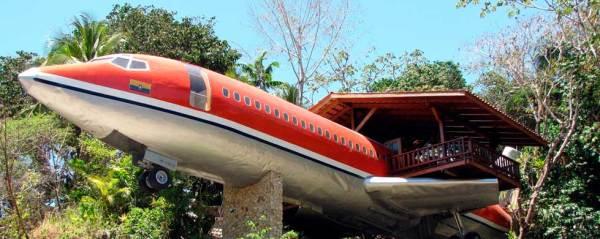отель -самолет Коста-Рика