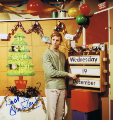PICTURED: Brian Cant (Christmas week on Play School, 1973). SUPPLIED BY: Paul R. Jackson. COPYRIGHT: BBC.