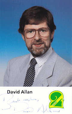 PICTURED: David Allan. SUPPLIED BY: Paul R. Jackson. COPYRIGHT: BBC.