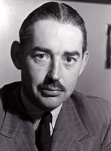 PICTURED: John Snagge (1942). SUPPLIED BY: Paul R. Jackson. COPYRIGHT: BBC.