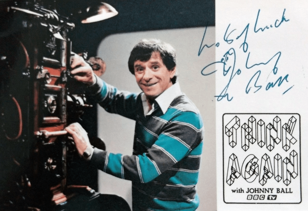 PICTURED: Johnny Ball (1980s).