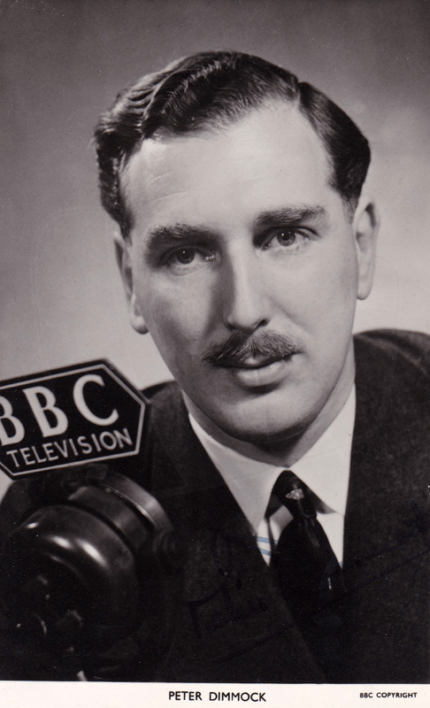 PICTURED: Peter Dimmock. SUPPLIED BY: Paul R. Jackson. COPYRIGHT: BBC.