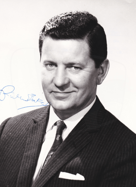 PICTURED: Richard Baker (1967). SUPPLIED BY: Paul R. Jackson. COPYRIGHT: BBC.