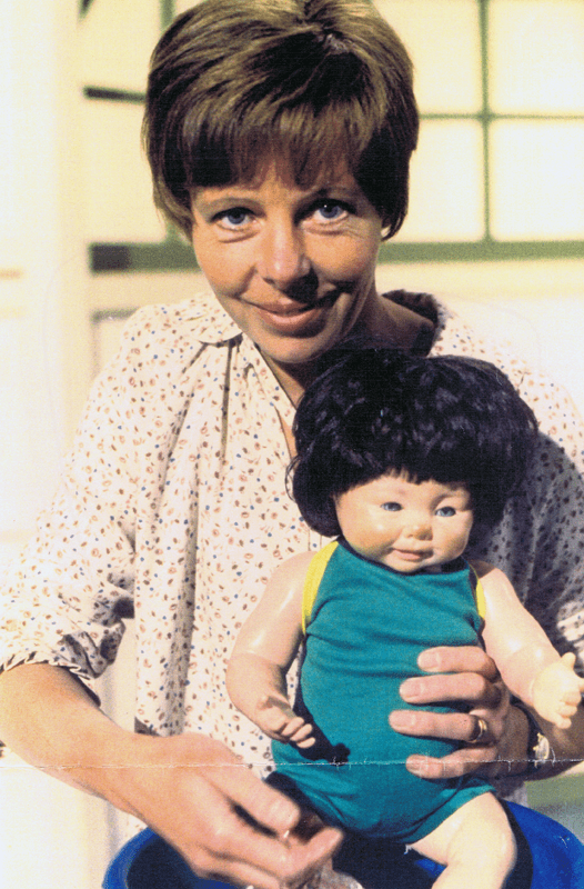 PICTURED: Sarah Long (1970s). SUPPLIED BY: Paul R. Jackson. COPYRIGHT: BBC.