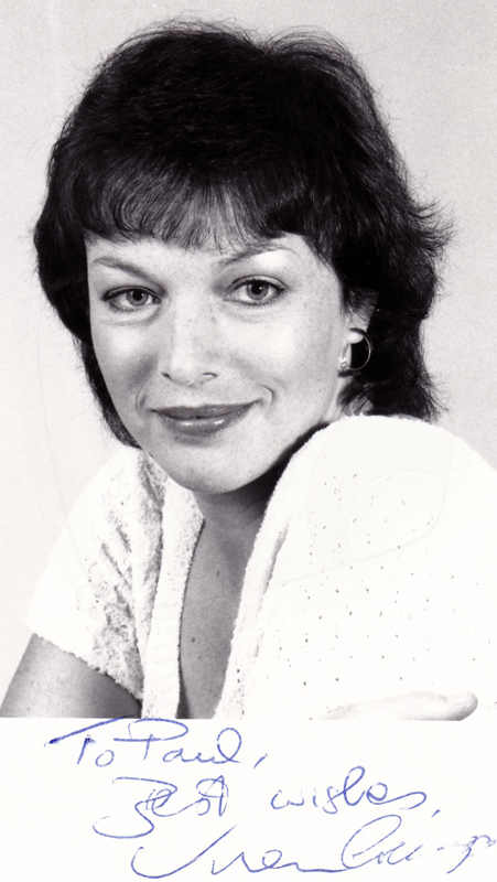 PICTURED: Vivien Creegor (whilst at the BBC). SUPPLIED BY: Paul R. Jackson. COPYRIGHT: BBC.